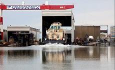 Cantieri Vittoria: varato il rimorchiatore per i porti algerini