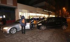 Strike di auto in Corso del Popolo