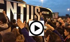 Tifosi polesani in trasferta per accogliere la Juventus