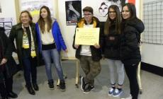 Alunni uniti contro lo stalking<br/>premiati gli elaborati degli studenti