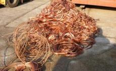I soliti predoni del rame <br/> rubano cinquemila euro di cavi