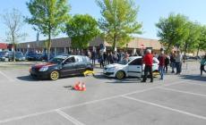 Oltre 200 studenti<br/>a lezione di guida sicura