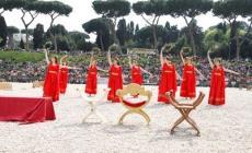 La Danza antica di Villadose <br/> in trasferta al compleanno di Roma