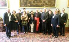 I soci dell'Ucid polesana <br/> ospiti d'onore in Vaticano