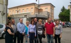 Il tour di Alessandra Moretti <br/> tra Bosaro, Polesella e Occhiobello