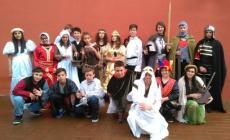 Giovani attori sul palco del Duomo <br/> gli studenti della Parenzo in scena