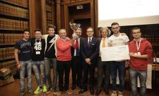l'Itis Viola Marchesini al primo posto<br/>alle olimpiadi della macchina utensile