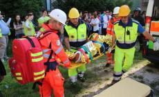Prove d'emergenza al De Amicis<br/>la macchina dei soccorsi in azione