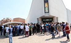 Un migliaio per l'addio a Tamburini <br/> presenti anche gli allievi del Venezze