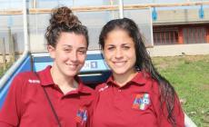 Due polesane di scena a San Siro <br/> Giulia Poli e Gaia Girri campionesse