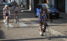 Giro del Lago di Garda in un giorno<br/> per tre ciclisti del Velo Club Badoera