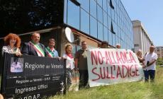 Un coro di no alla diga sull'Adige <br/> sindaci e comitati al palazzo di Vetro