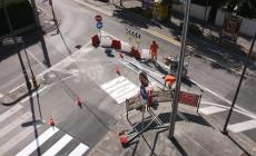 Viale Trieste, il tappo è saltato <br/> tolta la barriera di largo Luccotti