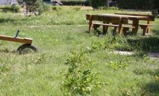 Un parco fra cartacce ed erba alta<br/> area verde di viale Gramsci trascurata