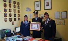Riconoscimento per Papasodaro <br/> nominato socio benemerito dell'Anc