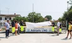 Un palco a norma di sicurezza<br/> donato da Adriatic Lng a Porto Viro