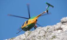 Due alpinisti rodigini in difficoltà<br/> recuperati sulla Croda dei Toni