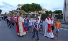 Sentita processione a Contarina <br/> per festeggiare San Bartolomeo
