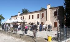 Inaugurata la casa del Tisi <br/> presente un suo quadro orginale