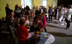 Un centinaio di bambini<br/>  alla Notte bianca della biblioteca