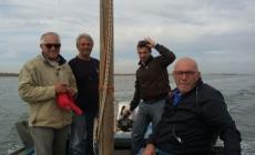 Allarme delle cooperative pescatori<br/> bocca del Po di Pila ancora ostruita