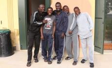 I primi dieci profughi<br/>  sono arrivati a Frassinelle
