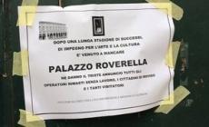 Roverella, se ci sei batti un colpo<br/> un'epigrafe per la morte del palazzo