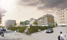 Un progetto per l'ex stazione dei bus<br/> sotto un parcheggio, sopra una piazza