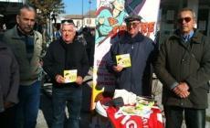 Un gazebo per tutelare le pensioni<br/>Spi Cgil in piazza per gli anziani