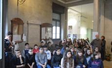 """Gli studenti del """"Bocchi-Galilei"""" <br/>  hanno aderito a """"Libriamoci"""""""