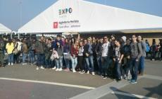 Gli studenti dell'Enaip <br/> all'utlimo atto dell'Expo