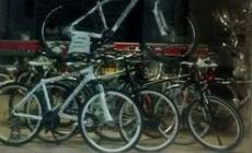 Tentato furto al negozio di biciclette di via Calatafimi
