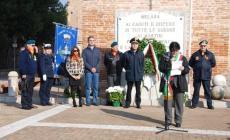 Commemorazione dei caduti <br/> un pensiero ai due Marò