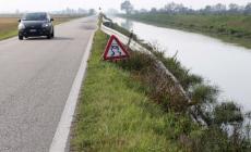 Guida da safari in via Calatafimi <br/> è danneggiato pure il guard rail