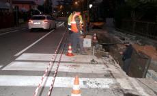 La fuga di gas blocca il quartiere <br/> senso unico alternato in Tassina