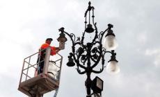 40 nuovi lampioni nelle frazioni