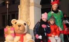 Orso, elfi e tanti sorrisi <br/> in compagnia di Teddy Thun