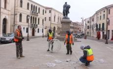 Luci sull'eroe dei due mondi <br/> luminarie in piazza Garibaldi