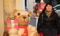 Una simpatica foto ricordo <br/> con l'orsetto Teddy Thun