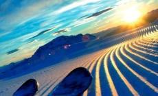 """""""Ski sunrise"""", quando l'alba <br/> bacia le vette delle Dolomiti"""