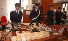 Detenzione d'armi da guerra <br/> falegname a giudizio