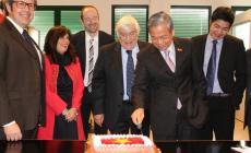 L'ambasciatore del Vietnam <br/> ospite della Turatti