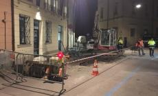 Allarme per una fuga di gas <br/> in pieno centro di Rovigo