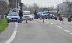 Autostrada blindata  <br/> Posto di blocco della Polizia