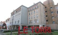 Rissa nel parcheggio <br/> del centro commerciale Le Torri
