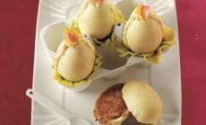 Ovetti di Pasqua <br/> farciti al cioccolato