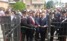 Nuova caserma dei Carabinieri <br/> taglio del nastro a Stienta