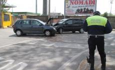 Frontale in Viale Tre Martiri <br/> i conducenti in ospedale