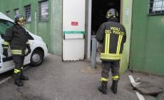 Fuga di gas in area Tredici <br/> tecnici e vigili del fuoco al lavoro
