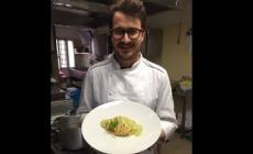 Al Ponte di Lusia spaghettone con insalata Igp e aglio Dop
